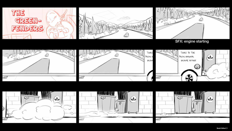 Storyboard Artist Portfolio